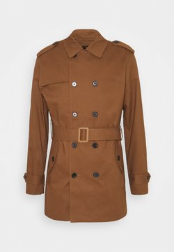 Jack & Jones PREMIUM - PALMER - Trench - dark earth