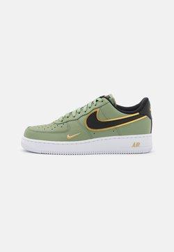 Nike Sportswear - AIR FORCE 1 '07 LV8 - Sneaker low - oil green/black/metallic gold/white