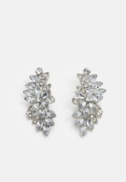 Pieces - PCLAURY EARRINGS - Earrings - silver-coloured/clear