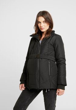 LOVE2WAIT - COAT DOUBLE ZIPPER PADDED - Winterjas - black