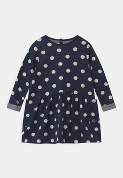 Petit Bateau - Strickkleid - smoking/marshmallow