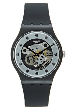Swatch - SILVER GLAM - Rannekello - black