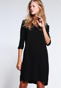 Selected Femme - SFTUNNI SMILE  - Korte jurk - black