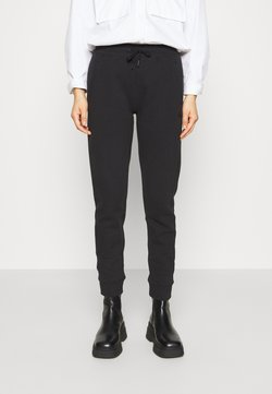 Calvin Klein Jeans - GLITTER MONOGRAM  - Jogginghose - black