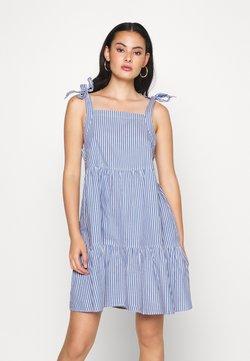 Monki - THELMA SUMMER DRESS - Freizeitkleid - blue medium
