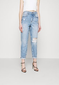 River Island - CARRIE CAPRISL - Relaxed fit jeans - light auth