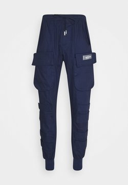Sixth June - PANTS WITH MULTIPLE POCKETS - Cargo trousers - navy