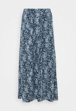 Moss Copenhagen - AMAYA RAYE SKIRT  - A-Linien-Rock - blue