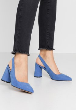 ONLY SHOES - ONLPIXIE HEELED SLINGBACK  - High Heel Pumps - royal blue