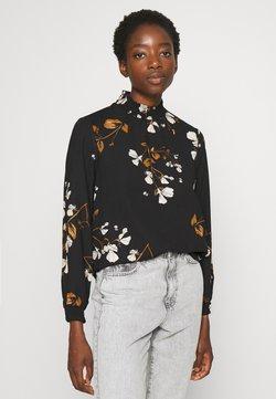 Vero Moda - VMANNIE SMOCK - Bluse - black