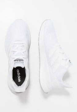 adidas Performance - RUNFALCON UNISEX - Obuwie do biegania treningowe - footwear white/grey two