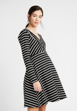 Gebe - DRESS BEYONCE - Vestido ligero - black/white