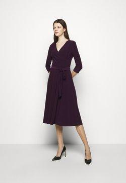 Lauren Ralph Lauren - MID WEIGHT DRESS - Sukienka letnia - raisin