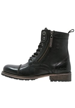 Pepe Jeans - MELTING  - Veterboots - black
