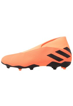 adidas Performance - NEMEZIZ 19.3 LL FG - Chaussures de foot à crampons - signal coral/core black/solar red