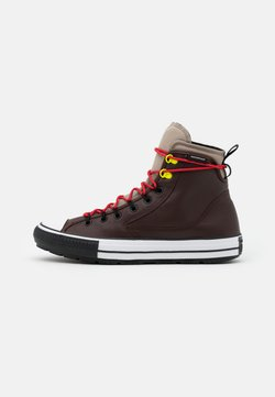 Converse - CHUCK TAYLOR ALL STAR UNISEX - Sneaker high - dark root/malted/university red