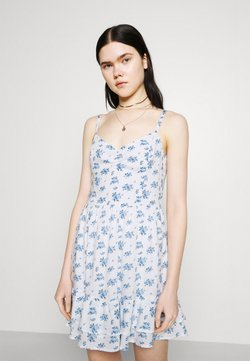 Hollister Co. - BARE SHORT DRESS - Freizeitkleid - white