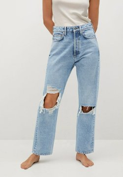 Mango - SELINA - Straight leg jeans - middenblauw