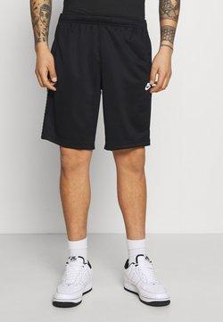 Nike Sportswear - REPEAT - Shorts - black/white