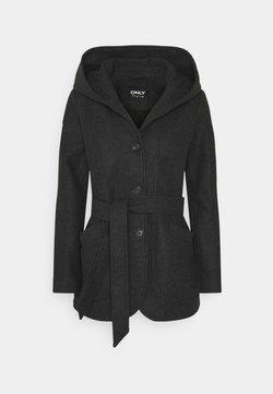 ONLY - ONLCHANETT JACKET  - Manteau classique - dark grey melange
