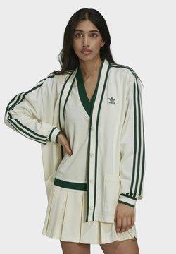 adidas Originals - CARDIGAN ORIGINALS - Strickjacke - off white