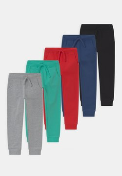 Friboo - 5 PACK  - Tracksuit bottoms - turquoise/grey/dark blue