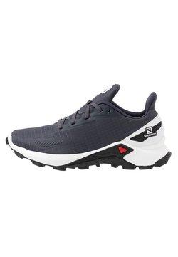 Salomon - ALPHACROSS BLAST - Zapatillas de trail running - india ink/white/black