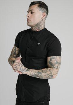 SIKSILK - STANDARD COLLAR SHIRT - Camisa - black