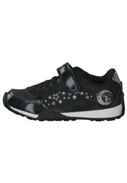 Geox - Sneaker low - black/dk silver