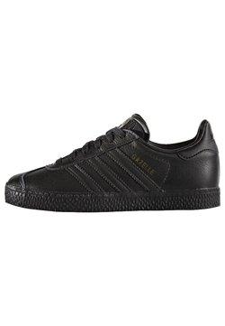 adidas Originals - GAZELLE - Matalavartiset tennarit - core black
