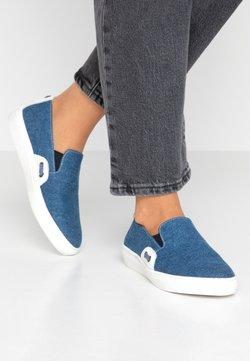 Pier One - Slip-ons - blue denim