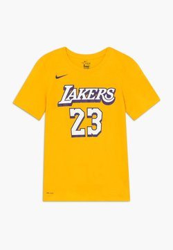 Nike Performance - NBA LOS ANGELES LAKERS JAMES LEBRON CITY EDITION - Artykuły klubowe - amarillo