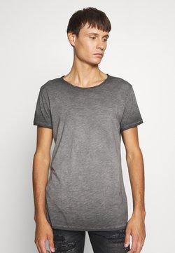 Tigha - VITO SLUB - T-shirt imprimé - vintage black