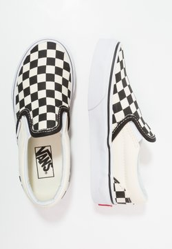 Vans - CLASSIC - Instappers - black/white