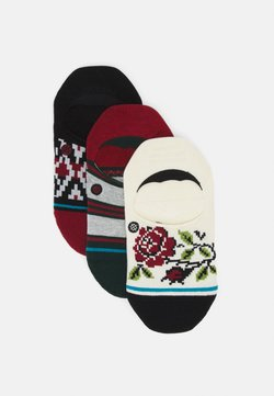 Stance - BE MERRY 3 PACK - Chaussettes - black/white/red