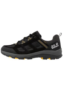 Jack Wolfskin - VOJO 3 TEXAPORE LOW - Hikingschuh - black/burly yellow