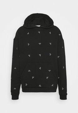 Holzweiler - RAINBOW HANGER HOODIE - Sweater - black