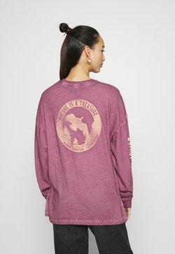 BDG Urban Outfitters - NATURE EAGLE SKATE - Langarmshirt - purple