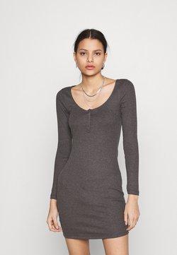 Even&Odd - Vestido de punto - mottled dark grey