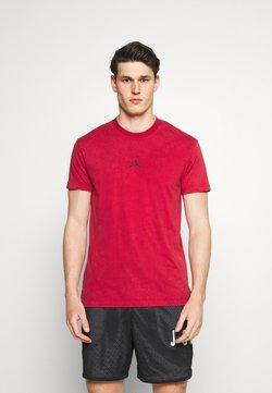 Jordan - DRY AIR - T-Shirt basic - gym red/black
