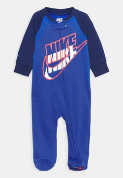 Nike Sportswear - FULL ZIP FOOTED COVERALLS - Strampler - game royal