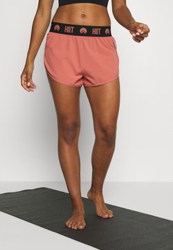 HIIT - ESSENTIAL BRANDED SHORT - Urheilushortsit - salmon