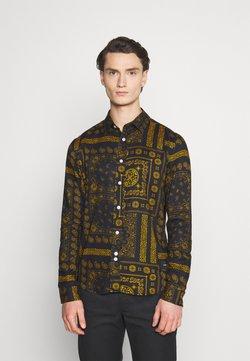Nominal - PAISLEY OVERSHIRT - Camisa - black/ gold