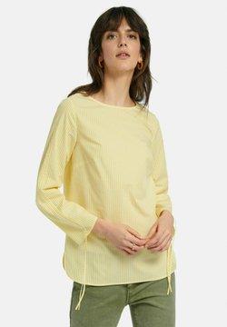 PETER HAHN - Bluse - gelb/weiß