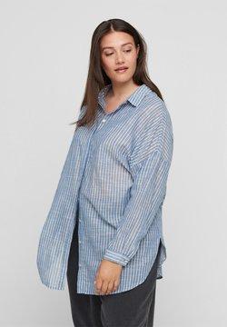Zizzi - Skjorta - light blue