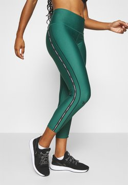 Under Armour - ANKLE CROP - Trikoot - saxon green