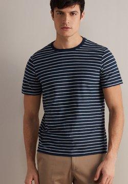 Falconeri - FLAMMGARN - T-Shirt print - blu/ecru