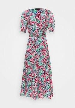 Marks & Spencer London - FRILL WAISTED MID - Freizeitkleid - multicoloured