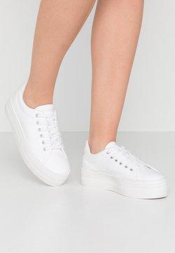 No Name - PLATO - Sneakers laag - white/fox white