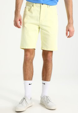 Urban Classics - Jeans Shorts - powder yellow